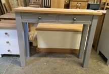 Dressing tables / Dressing tables in oak, Pine and Painted woods. All bespoke and made for each customer.