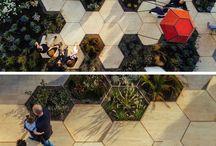 Seating Areas/ Public Space Design