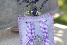 Lavender Cross stitch / by Ladybird