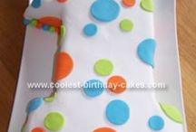 Birthday cake ideas / Inspiration and recipes for birthday cakes for kids