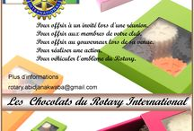 Affiche CHOCOLATS ROTARY