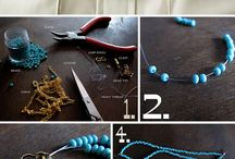 pretty necklace diy