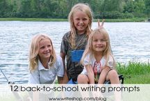 Homeschool Grammar & Writing / Find helpful links here to supplement your Grammar and Writing curriculum as well as products that you can RENT or purchase at Yellow House Book Rental https://www.yellowhousebookrental.com/