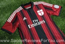 2014-15 Serie A Jerseys