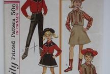 Vintage cowgirl patterns