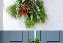 Christmas wreaths swags etc