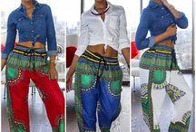 Afro-Women's fashion