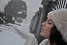 Dreaming a White Xmas / Scarves and shawls for Xmas