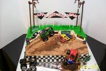 Monster truck theme birthday / by Christine Poorman