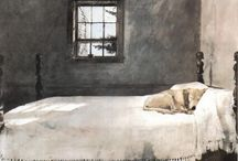 Andrew Wyeth / by Gretchen Tsantles