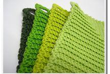 Crochet dish towels / by Joanie Benninghofen Carter