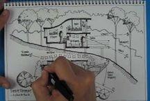 Landscape sketching skill