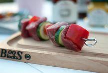 BBQ - Grillsaison / Produkte und Rezepte rund um das Thema Grillen BBQ-Products and Recipes