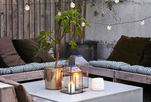 OUTDOORS / Outdoor spaces for living and relaxing