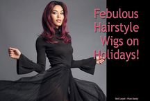 Febulous Hairstyle Wigs on Holidays! New & Hot Wig Styles!