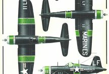 US WW2 PACIFIC FIGHTERS
