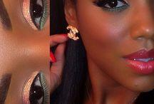 Afro-american MakeUp