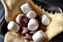 S'mores  / The s'more has become more than just the campfire sticky and gooey snack!  / by Stacey Carrick