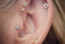 Earrings/Ear piercings❤️❤️