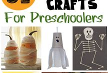 Holiday crafts - Halloween