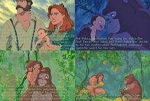 TARZANDISNEY / Disney Tarzan as you've never imaginated Theories about Tarzan family and Porters :)