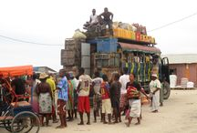 Discover Madagascar in taxi brousse / The taxi brousse is the transport the most used malagasy people for joining the different region on the big island