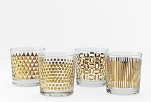 Bar Beauty / Bar Glass Carts Shakers Spirits Decanters