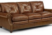 Leather to Live On / We carry a wide variety of leather furniture including sofas, sectionals, recliners, chairs and ottomans.
