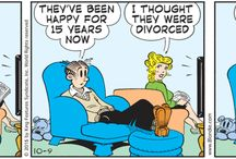 Blondie I By Dean Young and John Marshall / Keeping my love for Blondie & Dagwood handy.