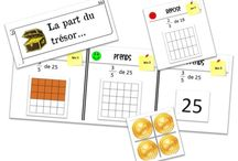 Fractions clil