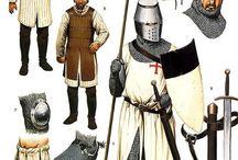 Knight, armery