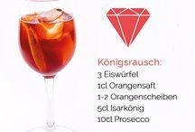 Rezepte / Der König kann natürlich nicht nur als Shot getrunken werden, sondern lässt sich auch in leckeren Cocktails mixen!