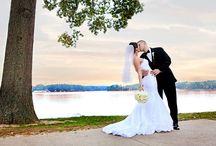 Black and White/Ivory Weddings