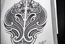 Tattoo ornaments mandala