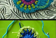 handmade kniting decoration