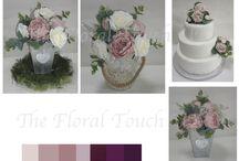 WEDDING CENTREPIECE / Wedding Centrepieces for the Bride & Groom Top Table