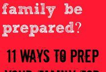 Emergency Prep!!!