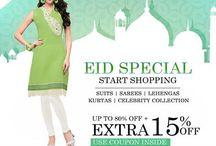 Eid Special / Dress in a celebratory mood this festive season!