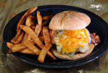 BURGERS / All of the mouth watering burgers you can eat!