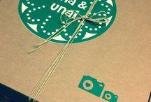 Cajas decoradas / Cajas para álbumes de bodas