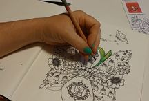 colouring for stamps