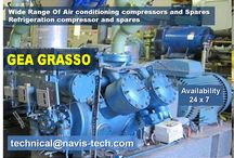 Gea Grasso compressor and spares/Gea Grasso refrigeration/Gea Grasso Recondition Compressor / Gea Grasso compressor and spares/Gea Grasso refrigeration/Gea Grasso Recondition Compressor/We supply complete Gea Grasso Compressor and spares
