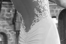 Wedding dress/hair..