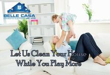 Belle Casa / Our Mission Statement: To continue and improve on the levels of customer care provided to our clients and to remain the largest Domestic Cleaning Service in the Cambridge Area.