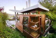 Environmentally friendly houses!