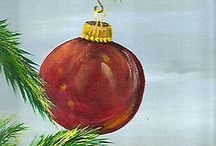 Christmas paintings / by Ann Small