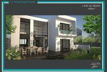 Gamme Architecturiale - Groupe Diogo Fernandes / Découvrez la gamme Architecte, des maisons contemporaines haut-de-gamme signées Groupe Diogo Fernandes.