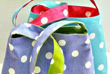 Simple bags to make in a jiffy.