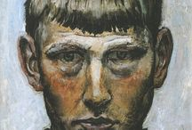 [1891 - 1969] Otto Dix / Wilhelm Heinrich Otto Dix was a German painter and printmaker, noted for his ruthless and harshly realistic depictions of Weimar society and the brutality of war. Along with George Grosz, he is widely considered one of the most important artists of the Neue Sachlichkeit.