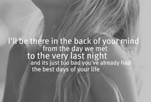 Country Lyricss <3 / by Bailey Gale
